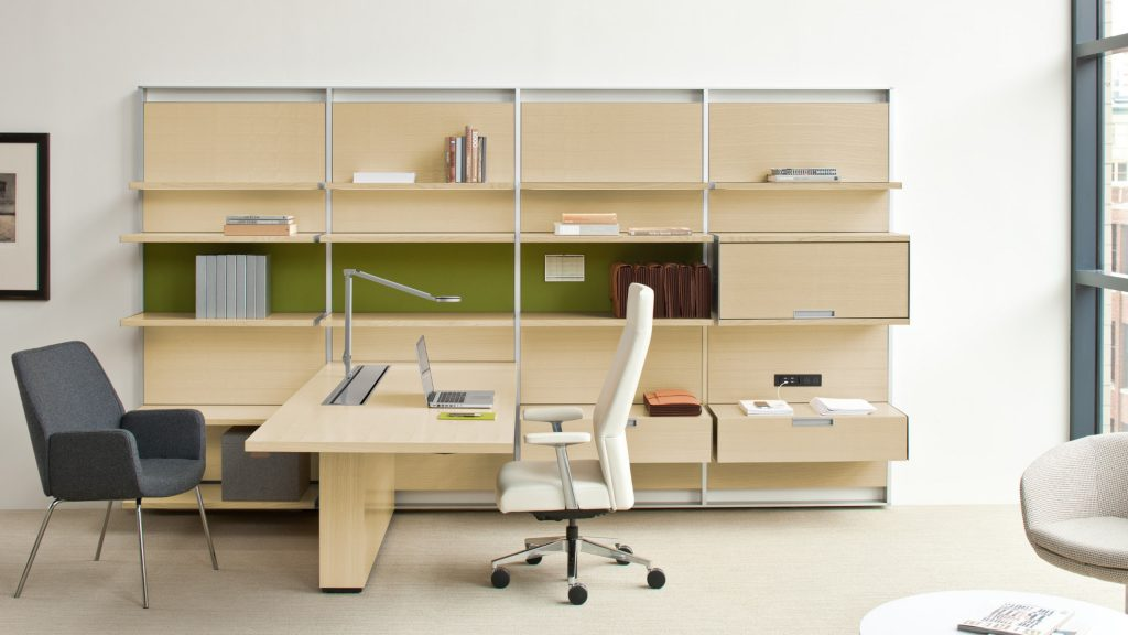 Steel Case Flex Desk System